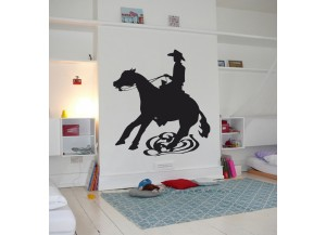 Stickers Equitation western