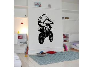 Stickers moto tout terrain