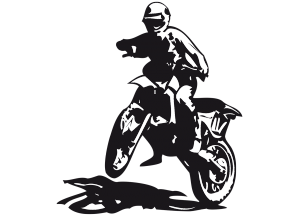 Stickers moto enduro