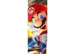 Sticker pour porte Mario Kart