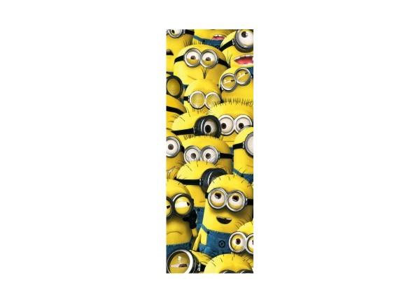Sticker pour porte Les Minions