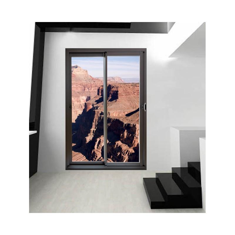 stickers muraux le grand canyon et baie vitr e. Black Bedroom Furniture Sets. Home Design Ideas